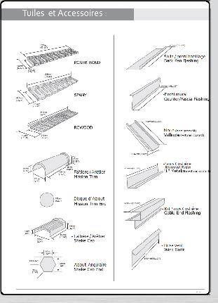 manuel de pose des tuiles acier roser toute la gamme de couverture m talliques les tuiles et